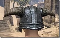 Nord Iron Helm - Male Rear