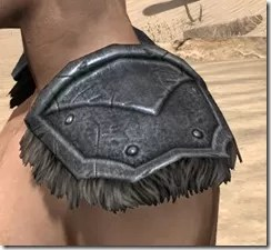 Nord Iron Pauldron - Male Side