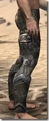 Nord Orichalc Greaves - Male Right