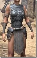 Silken Ring Iron Cuirass - Female Front