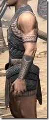 Silken Ring Iron Cuirass - Male Side