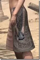 Silken Ring Iron Greaves - Female Side