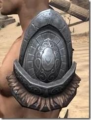Silken Ring Iron Pauldron - Male Side