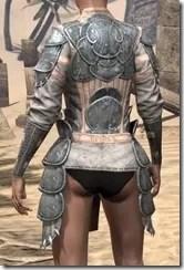 Telvanni Iron Cuirass - Female Rear