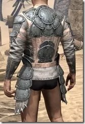 Telvanni Iron Cuirass - Male Rear