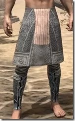 Telvanni Iron Greaves - Male Front