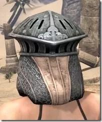 Telvanni Iron Helm - Female Rear