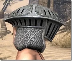 Telvanni Iron Helm - Female Right