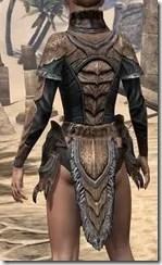 Wood Elf Dwarven Cuirass - Female Rear
