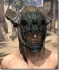 Wood Elf Dwarven Helm - Male Front