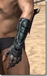 Wood Elf Orichalc Gauntlets - Male Side