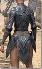 Xivkyn Iron Cuirass - Female Rear