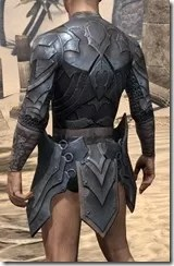 Xivkyn Iron Cuirass - Male Rear