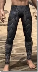 Xivkyn Iron Greaves - Male Front