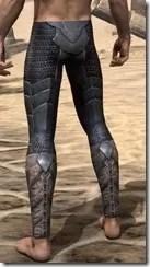 Xivkyn Iron Greaves - Male Rear