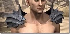 Xivkyn Iron Pauldron - Male Front