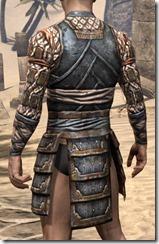 Akaviri Iron Cuirass - Male Rear