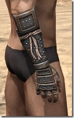 Akaviri Iron Gauntlets - Male Right