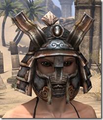 Akaviri Iron Helm - Female Front