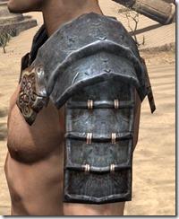 Akaviri Iron Pauldron - Male Side