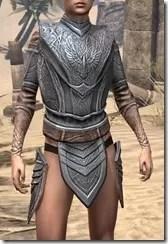 Aldmeri Dominion Iron Cuirass - Female Front