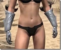 Aldmeri Dominion Iron Gauntlets - Female Front