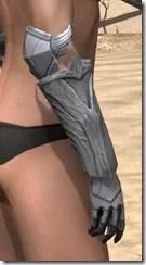 Aldmeri Dominion Iron Gauntlets - Female Right