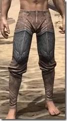 Aldmeri Dominion Iron Greaves - Male Front