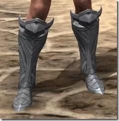 Aldmeri Dominion Iron Sabatons - Female Front