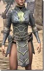 Ancient Elf Iron Cuirass - Female Front