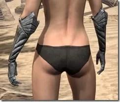 Ancient Elf Iron Gauntlets - Female Rear
