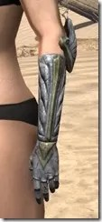Ancient Elf Iron Gauntlets - Female Side