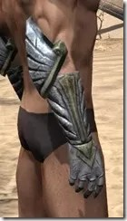 Ancient Elf Iron Gauntlets - Male Right