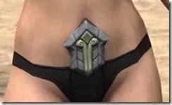 Ancient Elf Iron Girdle - Female Front