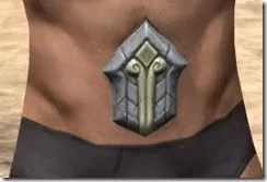 Ancient Elf Iron Girdle - Male Front