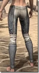 Ancient Elf Iron Greaves - Female Rear