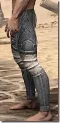 Ancient Elf Iron Greaves - Male Side