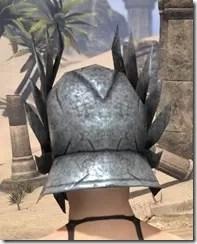 Ancient Elf Iron Helm - Female Rear