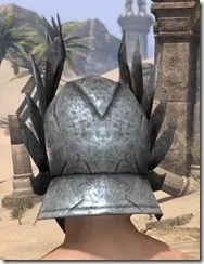 Ancient Elf Iron Helm - Male Rear