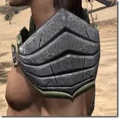 Ancient Elf Iron Pauldron - Male Side
