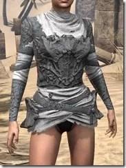 Ashlander Iron Cuirass - Female Front