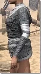 Ashlander Iron Cuirass - Female Side