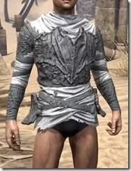 Ashlander Iron Cuirass - Male Front