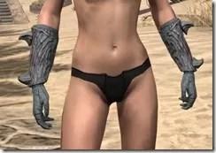 Ashlander Iron Gauntlets - Female Front