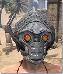 Ashlander Iron Helm - Female Front