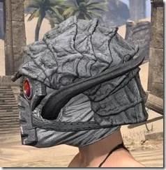 Ashlander Iron Helm - Female Side