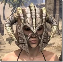 Barbaric Iron Helm - Female Front