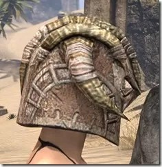 Barbaric Iron Helm - Female Right