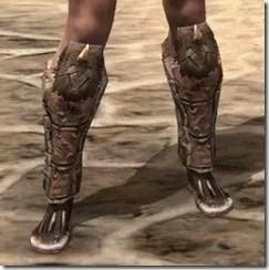 Barbaric Iron Sabatons - Female Front