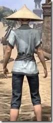 Budi-Shirt and Galligaskins - Female Close Rear